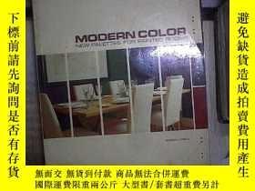 二手書博民逛書店MODERN罕見COLOR NEW PALETTES FOR PAINTED ROOMS 现代彩绘客房的新调色板