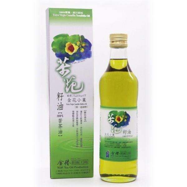 金椿茶油工坊~金花小菓茶花籽油500ml/罐~