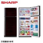 【SHARP 夏普】583公升變頻雙門冰箱SJ-PD58V-BK