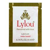 情趣用品 潤滑液 德國Lylou-Lubricant Water Based敏感肌膚專用水基潤滑液隨身包4ml 缺貨隨機出貨