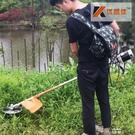 充電式電動割草機背負式園林家用草坪機除草機剪草機打草機割灌機  【喜慶元旦】YYS
