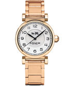 COACH 耀眼迷人時尚腕錶/玫瑰金/14502395