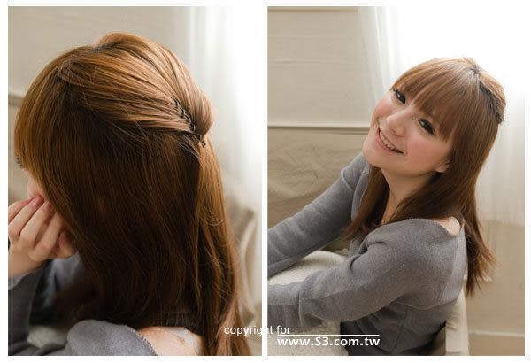 日本小物 美髮螺旋夾螺旋旋轉造型髮夾【小三美日】
