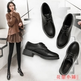 單鞋L小皮鞋I女中跟鞋學生鞋復古單鞋休閒鞋女鞋