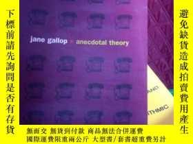 二手書博民逛書店Jane罕見Gallop Anecdotal TheoryY15