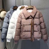 棉服女短款棉襖冬季棉衣外套學生面包服bf原宿風