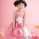 【Lovin` Sweetii】俏麗小公主童洋裝~桃紅限量款
