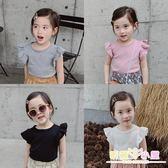 女童短袖t恤2019新款寶寶夏裝兒童純棉洋氣體恤嬰幼兒小女孩上衣