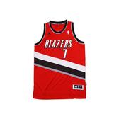 Adidas NBA Swingman Jersey [U08894] 男 籃球 球衣 紅白 Brandon Roy