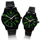 【Arseprince】仲夏之夜靚彩時尚對錶-迷幻綠