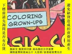 二手書博民逛書店creative罕見coloring for grown-ups
