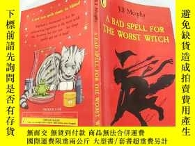 二手書博民逛書店the罕見worst witch 最壞的 . 女巫Y200392