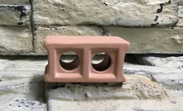 【西高地水族坊】雅柏UP代理 陶瓷製品 裝飾品 陶瓷空心磚(S)