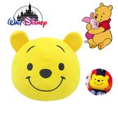 迪士尼 小熊維尼 圓形大抱枕 坐墊 靠枕 日本正版 Disney 該該貝比日本精品 ☆