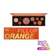 【韓國Touch in SOL】玩色眼影盤(滿滿橘子汁)9.4g