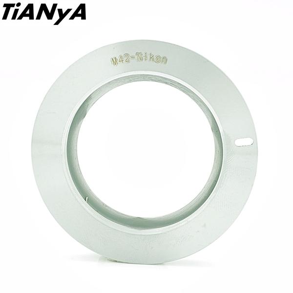 又敗家@Tianya有檔板M42轉Nikon鏡頭轉接環(M42鏡頭轉成尼康F接環)M42-Nikon轉接環M42轉F轉接環M42-F接環