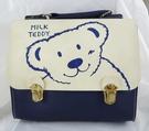 【震撼精品百貨】MILK TEDDY _泰迪熊~提袋