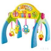 多功能寶寶學步健身架 腳踏鋼琴  BS21585『毛菇小象』TW