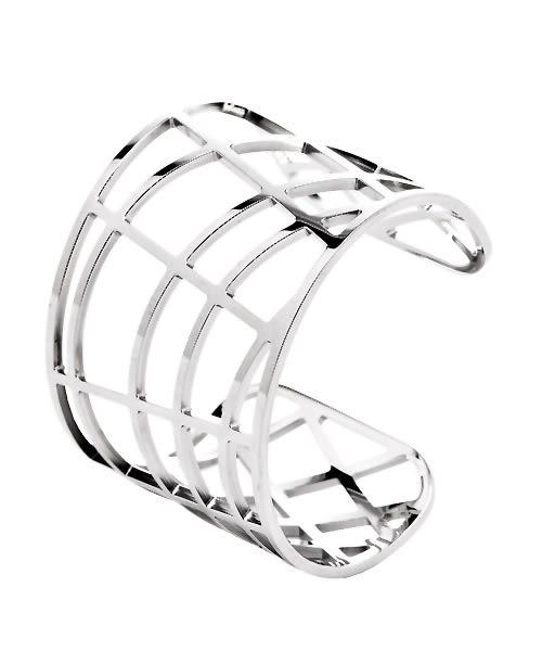 CK Calvin Klein DRAW 時尚縷空手環(KJ1TMF0001)