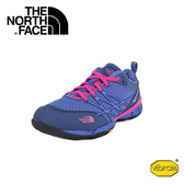 【The North Face 女 戶外多功能鞋《安帕羅綠/螢光粉》】CCJ3/運動/健行