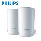 Philips 飛利浦 日本原裝 超濾龍頭型淨水器專用濾心2入(WP3911) 適用於WP3811
