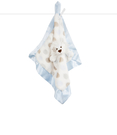 【美國 Little Giraffe】安撫巾 - 豪華小獅子系列嬰兒安撫巾(藍色款) - LXDBLLBL