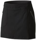 【Columbia】女款防曬50防潑短裙-黑色AK1995(BK)