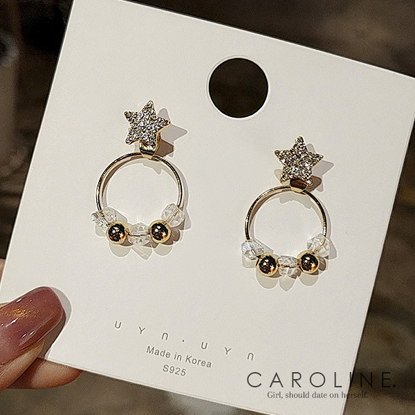 《Caroline》★韓國熱賣造型時尚  品味、氣質、時尚耳環71193