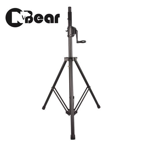 【敦煌樂器】CNBEAR WP-161B 齒輪鍊條手搖式升降款喇叭架