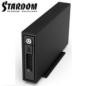 [富廉網] RAIDON 銳銨 GT1670-SB3 2.5/3.5吋SSD/HDD/JBOD 1bay硬碟外接盒(和順電通)