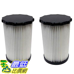 [106美國直購] 2 Highly Durable Washable & Reusable Dirt Devil F3 HEPA Filters 3-250435-001 (3250435001)