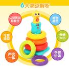 疊疊杯-匯樂彩虹塔套圈玩具兒童疊疊樂嬰兒...