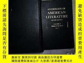 二手書博民逛書店ANTHOLOGY罕見OF AMERICAN LITER ATU
