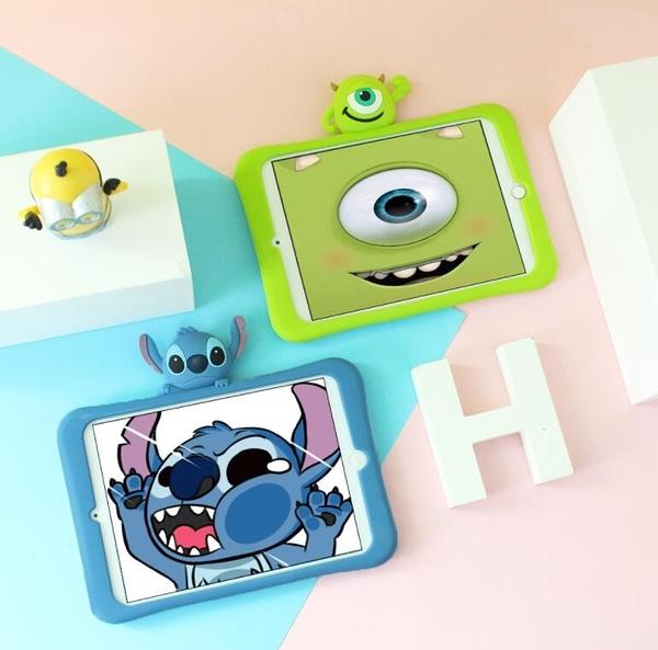 超薄平板保護套 蘋果卡通兒童Apple IPad Mini5可愛平板電腦皮套 IPad Air3全包矽膠平板防摔套
