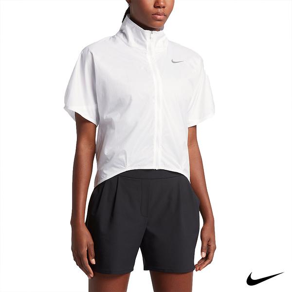 NIKE TRANSPARENT 女運動罩衫外套 白 831433-100