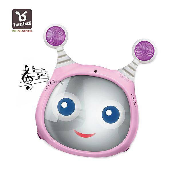 【Benbat】寶寶音樂後視鏡 (粉色)