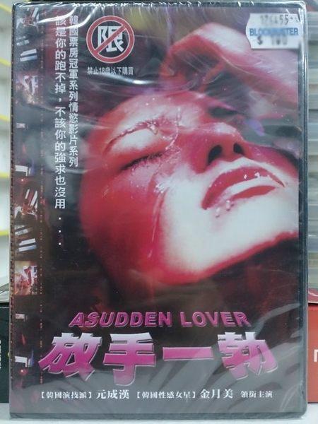 影音專賣店-I05-080-正版DVD*韓片【放手一勃(18禁/限制級)】元成漢*金月美