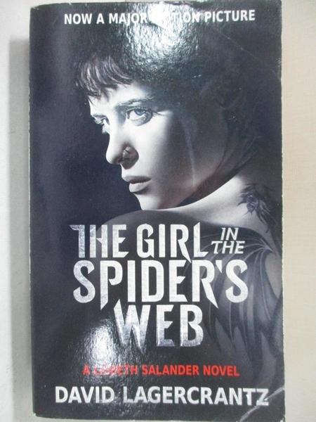 【書寶二手書T1/原文小說_A85】The Girl in the Spider's Web (Movie Tie-in)_David Lagercrantz