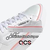 【五折特賣】adidas 休閒鞋 Sleek Super W 白 黑 女鞋 運動鞋 大LOGO 厚底 【ACS】 EF4956