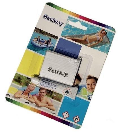 [衣林時尚] Bestway 泳具.充氣玩具.充氣床.充氣船 游泳池修補膠 1盒