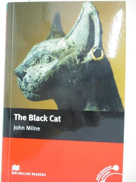 【書寶二手書T1/原文小說_HBR】The Black Cat_John Mile