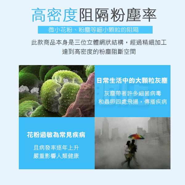 [99免運]立體剪裁 兒童 防霾口罩 超彈性 3片1組賣 高效防塵過敏 舒適透氣 重複使用