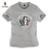 Hush Puppies T恤 男裝仙人掌刺繡圖騰狗短袖T恤