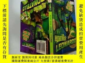 二手書博民逛書店MUTANT罕見ORIGIN :LEONARDO:突變體來源:萊昂納多Y200392