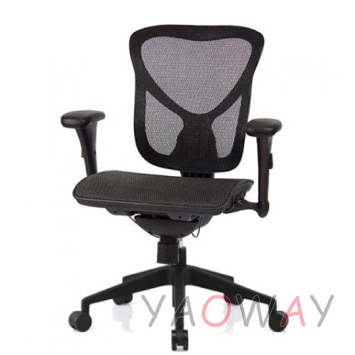 【耀偉】SL-D1 尼龍椅腳-超值功能椅(人體工學椅/辦公椅/電腦椅/網椅)