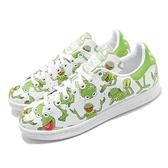 adidas 休閒鞋 Stan Smith 白 綠 青蛙 KERMIT 科米蛙 男鞋 女鞋 【ACS】 FZ2707