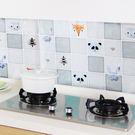 廚房防油汙貼紙 鋁箔 耐熱 油煙 瓦斯爐...