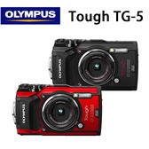 註冊送原廠電池 OLYMPUS Stylus Tough TG-5 防水相機 公司貨 送64G卡+專用座充+專用座充+原廠硬殼包