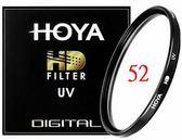 【聖影數位】HOYA HD MC UV Filter 52mm 超高硬度廣角薄框多層鍍膜UV鏡片