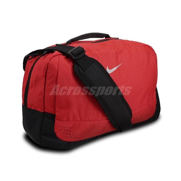 Nike 手提袋 Run Minimal Bagl 紅 黑 男女款 斜背包 反光設計 跑步 運動休閒【ACS】 N000356969-3NS